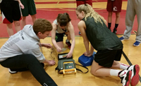 Emergency training for coaches and athletes keeps young athletes safer.