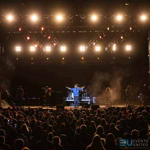 Casting Crowns performing at Space Coast Ctiyfest