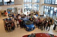 Employee Group Photo- Toyota Showroom