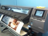 Testing out our new state of the art roll to roll printer with some amazing commercial photography projects!