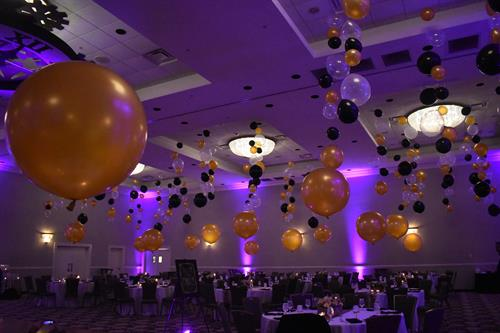 NYE Decor at the Grappone Conference Center