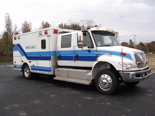 Critical Care Specialty vehicle for high risk inter-hospital transports