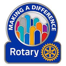 Proud members of Rotary.