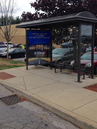 ATA helps spread the word at every corner with bus shelter advertising.