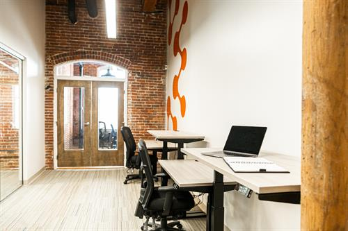 Standing Desks & Private Office