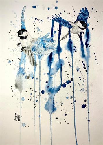 Watercolor by Nicole Lemire