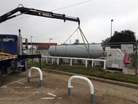 Texas Propane cylinder refilling at Sevcik's in College Station