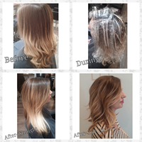 Before, during, and after by Mandy