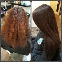 Before and after by Rosa