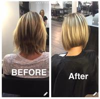 Before and after by Taylor