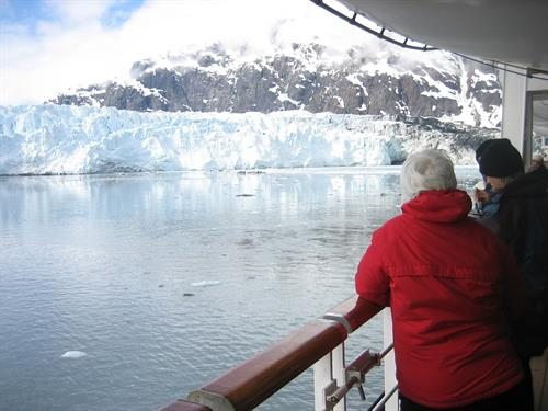 Glacier views from your Balcony