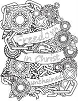 "Created an ""adult coloring page"" that used their theme for their event"