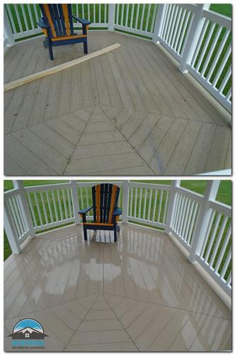 Composite Decking & Vinyl Rails