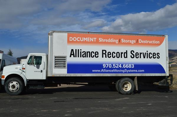 Alliance Record Services - Document Storage, and Destruction onsite or at our warehouse