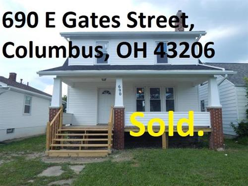 Columbus home SOLD