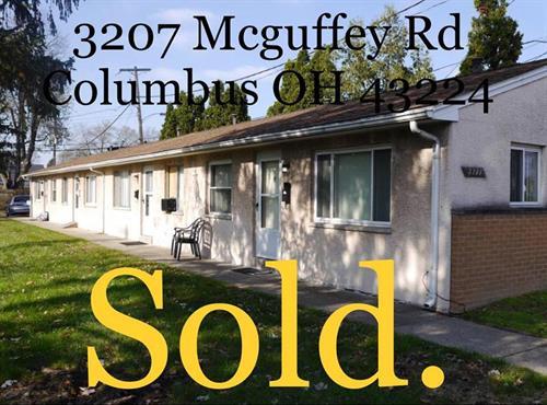 Apartment building sold in Columbus!