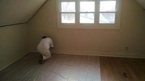 Our 100% cleanliness ensures no sloppy painters in your home. We cover all areas not being painted.