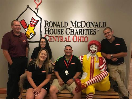 Volunteering and cooking dinner at the Ronald McDonald House of Central Ohio