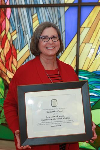 Receiving John & Ruth Mount Award