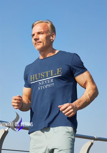 Hustle Never Stops Tee