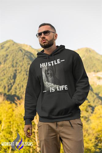 Hustle is Life - Benjamins Hoodie