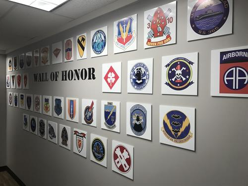 "The AQS ""Wall of Honor"""