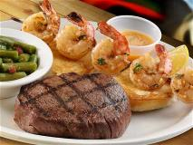 Sirloin and Shrimp Combo