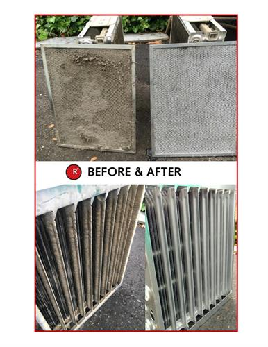Filters- Before and After