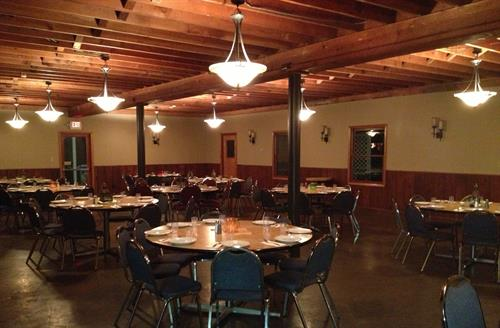 Dining Hall of the Canby Grove Kitchen.  Great meals, wonderful atmosphere!
