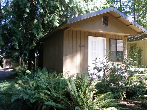 Woodland Cabins - Individual Units, carpeted and heated. Great for 1-4 Guests.