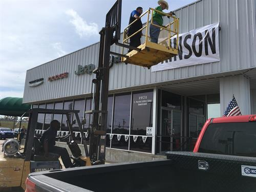 Reaching new heights! Brinson Chrysler Dodge Jeep RAM (formerly Toliver RAM)