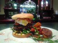 Black Jack Burger.... Not your average burger, it's Bigger and Tastier!