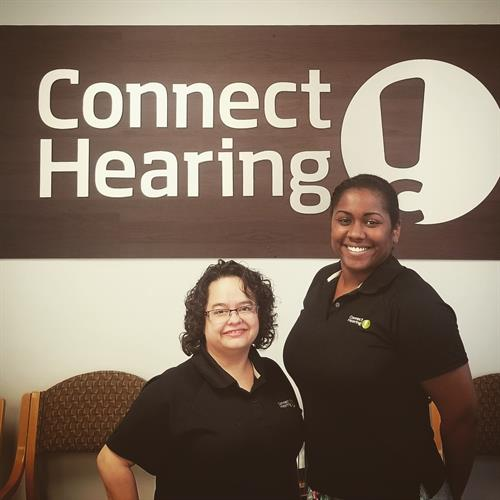 PCC Jaqueline and HCP Jasmine look forward to helping you with your hearing needs!