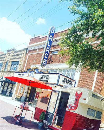 @ Rock the Block in downtown Corsicana