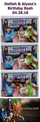 Our photo booth camper is perfect for birthdays!