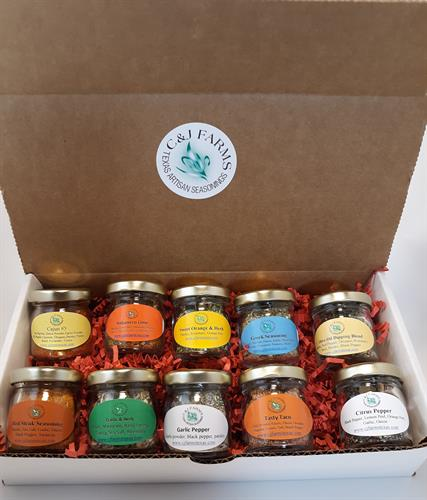 Seasoning Gift/Sample Set