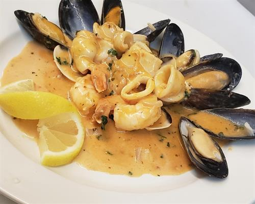 Seafood Trio Appetizer