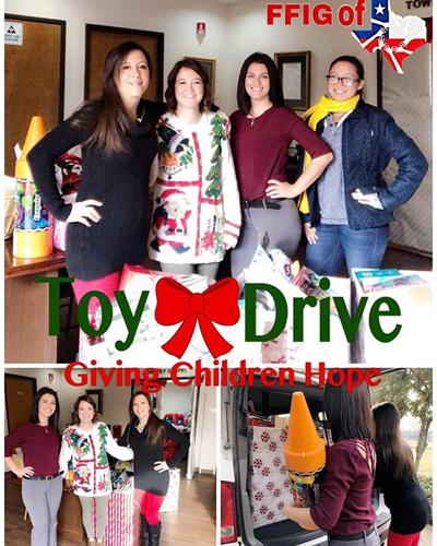 3rd Annual Toy Driver for TBHC of Ellis County