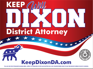 District Attorney - Will Dixon