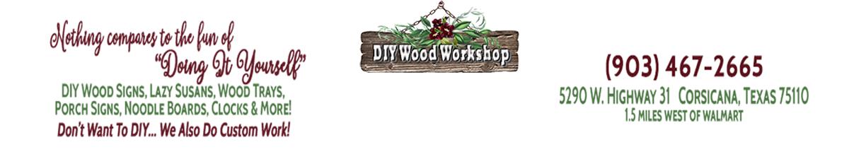 Diy Wood Workshop & Paint Party Hut