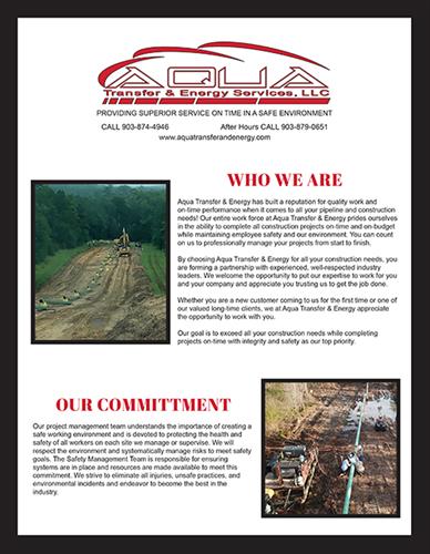 Aqua Transfer & Energy Flyer-Page 1
