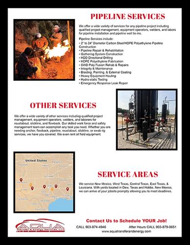 Aqua Transfer & Energy Flyer-Page 2