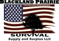Blackland Prairie Survival, Supply, and Surplus's Logo