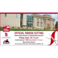 National Music Museum Lillibeth Expansion Ribbon Cutting