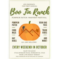 Boo Tin Ranch Pumpkin Patch + Harvest Festival
