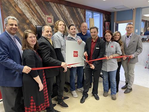 Boston Web Group Ribbon Cutting