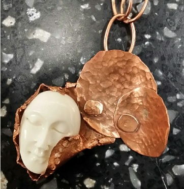 """Copper Dreams"" pendant"