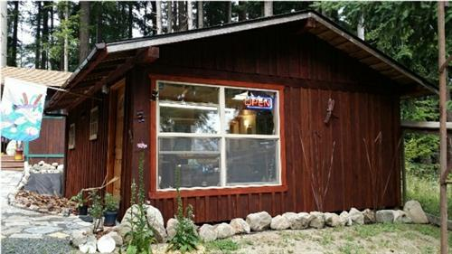 Firelight Designs Studio on Guemes Island - Creativity happens all the time in the studio!