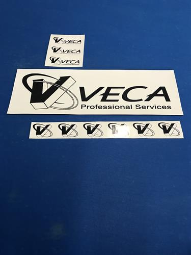 Magnetic vehicle sheeting and stickers