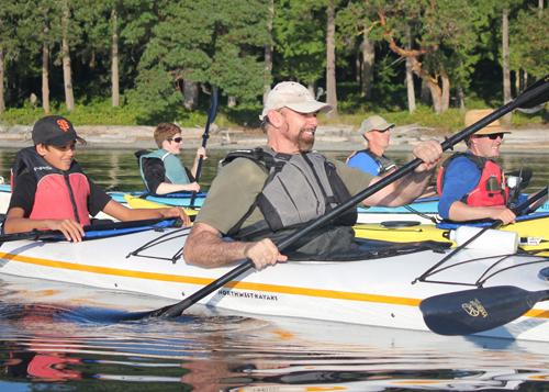 Family Kayak Tour - Triple Kayak